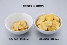 Crisps in Bowl